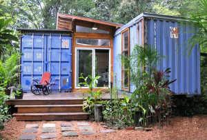 Дом из нескольких контейнеров проект 12