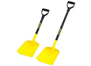 лопата с раздвижным черенком