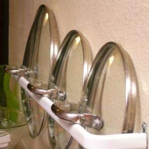 способ хранения крышек от посуды фото