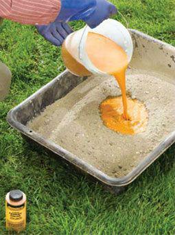 как заколеровать раствор для плиток