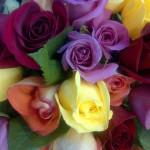 букет роз необычного цвета