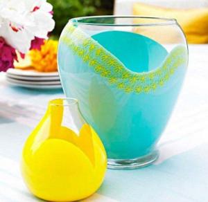 вазы из стекла своими руками