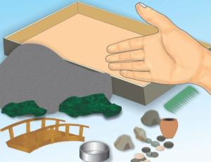 элементы для сада камней
