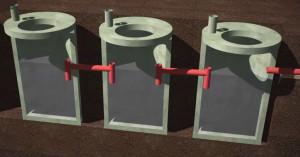 система канализации схема