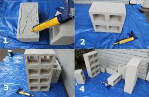 этапы строительства скамейки
