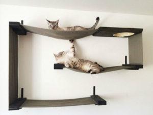 гамак для кошки на стену