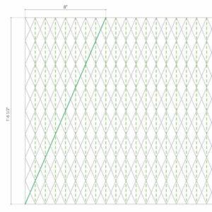 шаблон для абажура