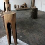 мебель для дачи из бревна фото 4