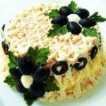 Рецепты салатов на год Петуха