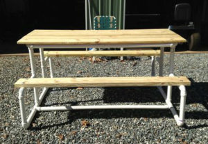 уличный стол из пвх