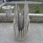 кашпо из цемента фото 4