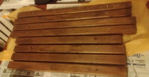 деревянная люстра для дачи фото 3