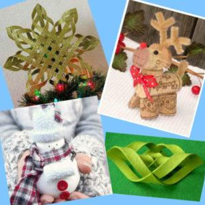 новогодние игрушки из подручных средств